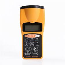 Digital Lcd Ultrasonic Tape Laser Meter Pointer Distance Measurer Range 60ft