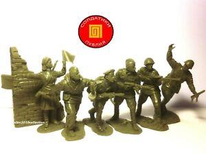 RE-RELEASE!!! Publius-Bataille de Berlin 1945, 6 Caoutchouc soldats 1:32
