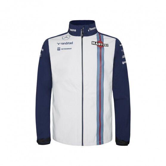 Williams Martini Racing Team Giacca Softshell Ufficiale Team 2015