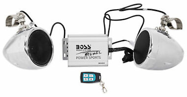 Boss Audio 600w Speaker Amplifier Remote Handlebar System