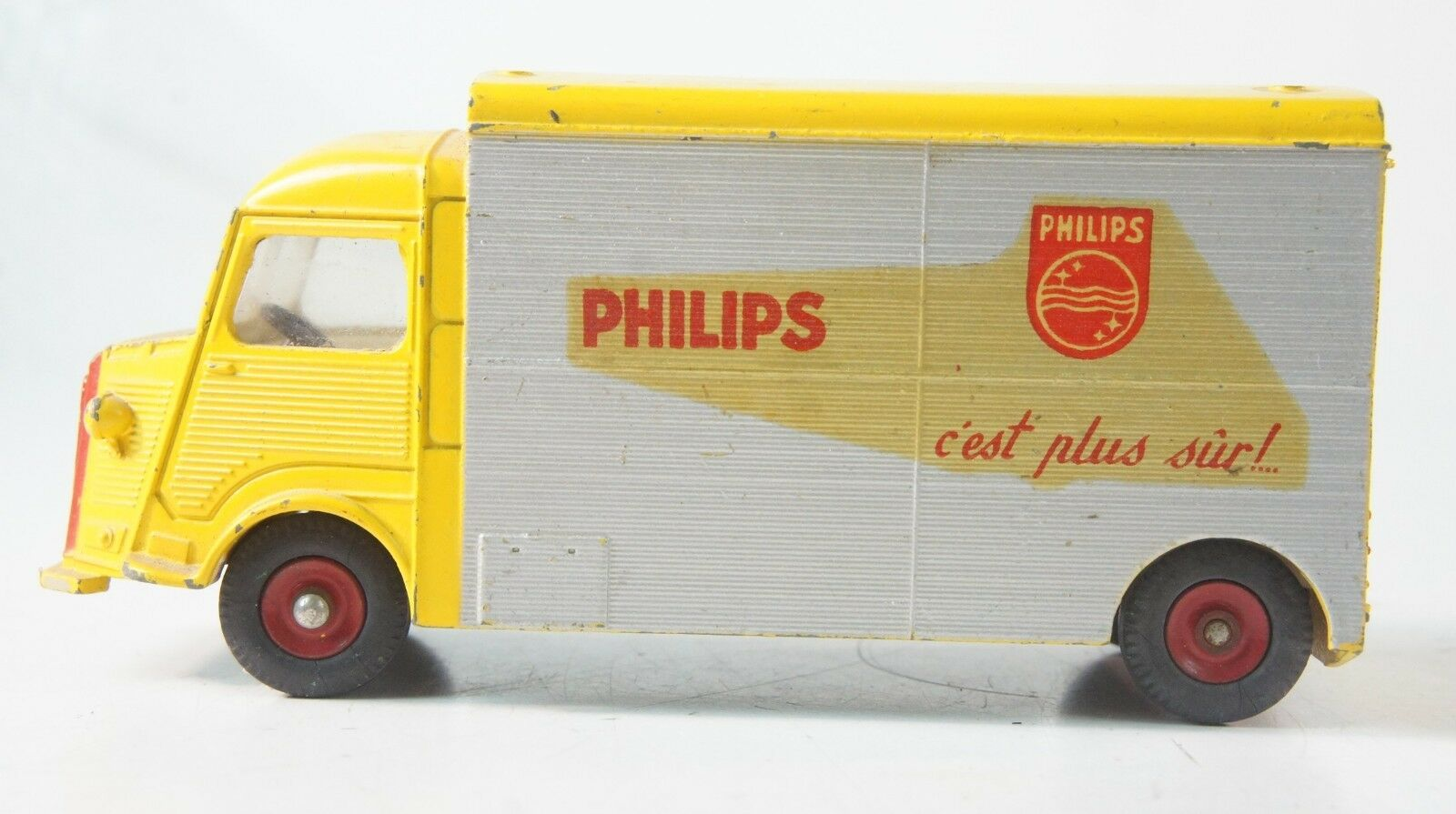 DINKY TOYS 587 Citroen 1200k carrosserie currus camping-car PHILIPS z-322