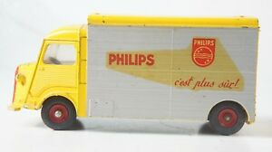 Dinky-Toys-587-Citroen-1200K-Carrosserie-Currus-Wohnmobil-Philips-Z-322