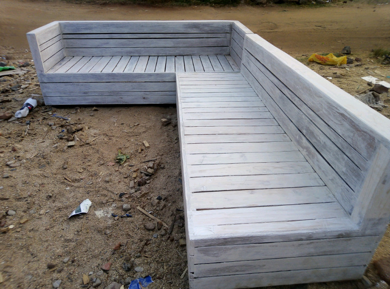 Pallet wooden chairs for sale | Centurion | Gumtree ...