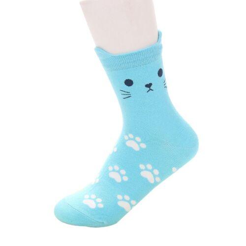 Frauen Mädchen Schöne Süße Katze Socks Kawaii Baumwoll Socken