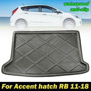 Fit-For-Hyundai-Accent-12-17-Hatch-Rear-Trunk-Cargo-Liner-Boot-Mat-Floor-Tray
