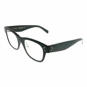 85e69e3e781 Image is loading Celine-CL-41426-06Z-Black-Plastic-Square-Eyeglasses-