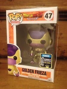 POP Dragon Ball Z Golden Frieza SDCC Exclusive Vinyl Figure a #47 Funko