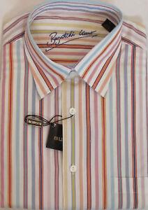 de 99 algodón hombre grande camiseta Fit Classic menor al s para talla Bugatchi L por Nueva venta pwBqHxaH