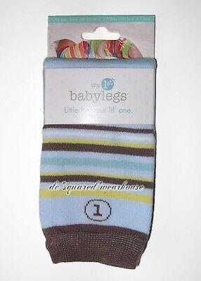 Boys 0 3 6 9 12 Mos Babylegs Leg Warmers Socks Blue Crawlers New
