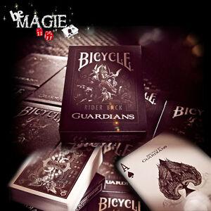 Jeu-GUARDIANS-Bicycle-poker-magie-carte