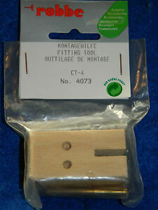 vintage-ROBBE-4073-montagehilfe-FITTING-TOOL-RC-outillage-de-montage-CT-4