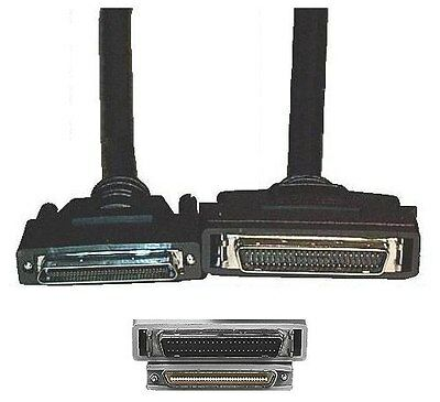 6ft long HPDB50//HD50~DB25pin SCSI2 Cable//Cord//Wire Drive//HD//Scanner PC//MAC//SUN