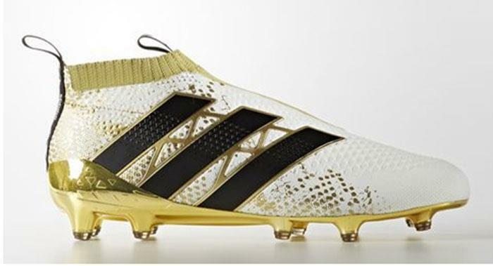 Adidas Ace 16+ Purecontrol FG Men Soccer Cleats Football shoes White gold sz 10