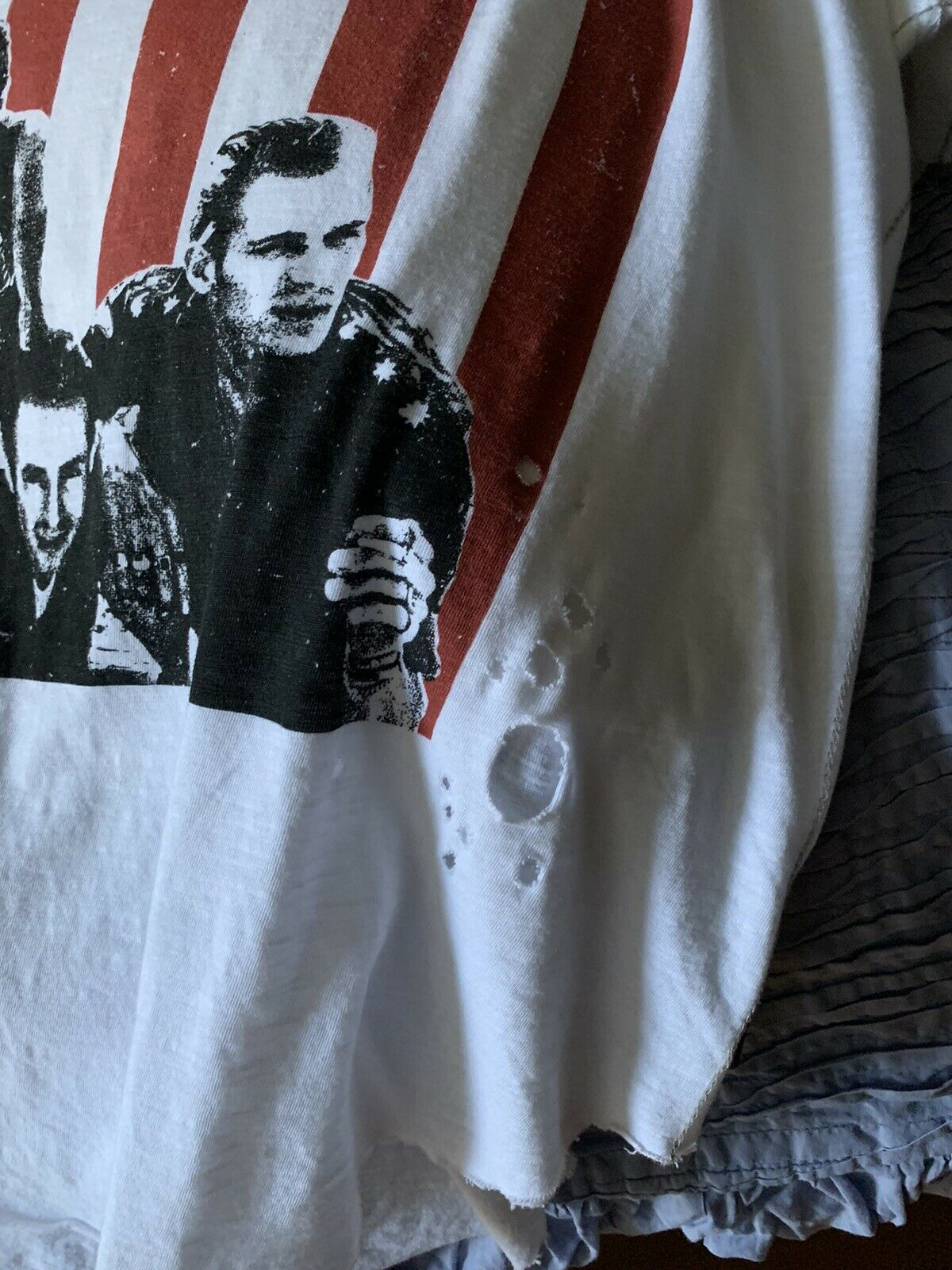 Trunk ltd  by Free People The Clash T-Shirt SZ M - image 6