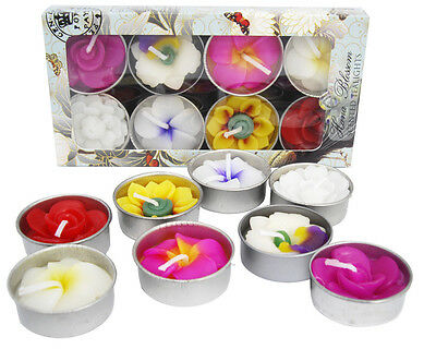 Fair Trade assorted flower scented tealights