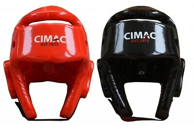 Medium Wacoku Unisexs WT Approved Dipped Foam Head Guard Red