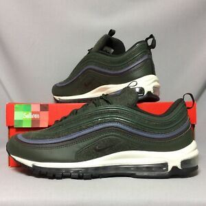 Details zu Nike Air Max 97 Premium UK12 312834 300 Wool Pack EUR47.5 US13 2017 Green PRM 1