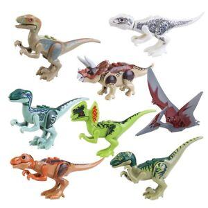 vari design colori e suggestivi nuovi prodotti per 8 Dinosauri 7 cm Giochi Colorati x Bambini Mattoncini Lego ...