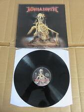 MEGADETH The World Needs A Hero RARE UK ORIGINAL GATEFOLD LP MISLP006 METALLICA