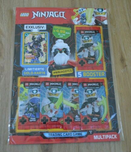 Lego Ninjago™ Serie 5 Trading Card Game Multipack limitierte LE8 Overlord