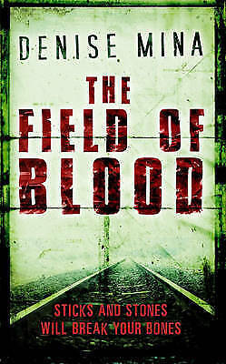 """""""AS NEW"""" Mina, Denise, The Field Of Blood, Mass Market Paperback Book"""