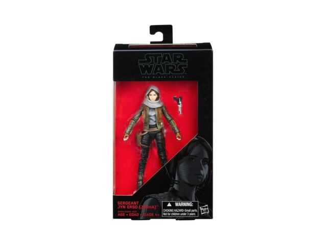 Figurine - Star Wars - Black Series - B9394 22 Jyn Erso (Jedha) (Rogue One) - Ha