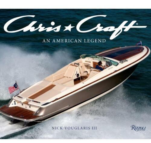 2 Adesivi barca Chris Craft