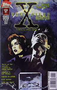 The-X-Files-Season-One-034-Deep-Throat-034-VF-NM-9-0-9-5-1997-TOPPS-COMICS