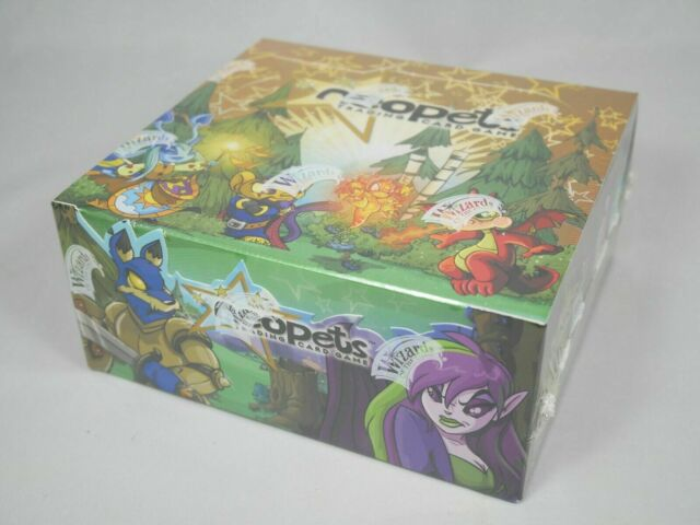 NeoPets Base Set Booster Box 36 Packs Wizards Of The Coast Factory Sealed Mint