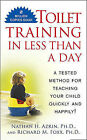 Toilet Training in Less Than a Day by Nathan H. Azrin (Paperback, 1989)