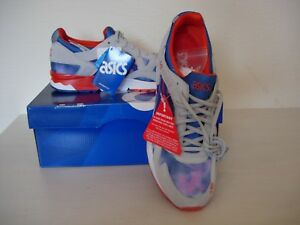 Asics Size lyte grey 9 shoes blue Trainers Gel new Mens qqfw76Sr