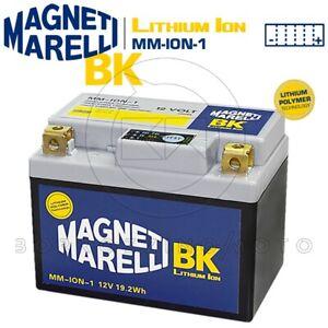 BATTERIA MAGNETI MARELLI LITIO MM-ION-1 YTX5L-BS APRILIA Scarabeo 50 Ditech 2003