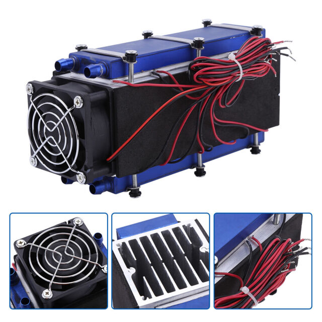 8-Chip Peltier Cooler Thermoelectric Refrigeration Cooling Device 12V TEC1-12706