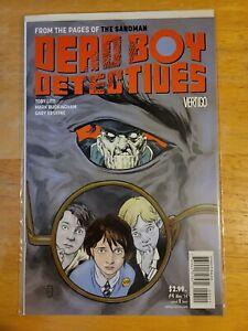 Dead Boy Detectives #4 Comic Book DC Vertigo 2014 The Sandman