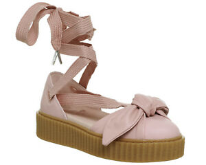 Image is loading Womens-Puma-Creeper-Ballet-Lace-Pink-Fenty-Sandals caf8279c2