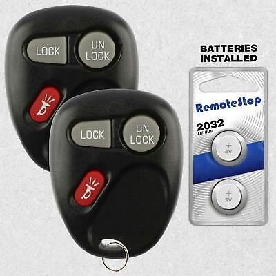 2 for 2001 2002 2003 2004 Chevrolet S10 Keyless Entry Remote Fob Car Key
