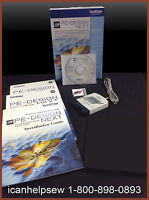 Brother Pe Design Next Embroidery Software Digitizing Version 9 + Train Dvd