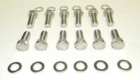 Chevy Small Block Stainless Steel Intake Manifold Bolt Kit