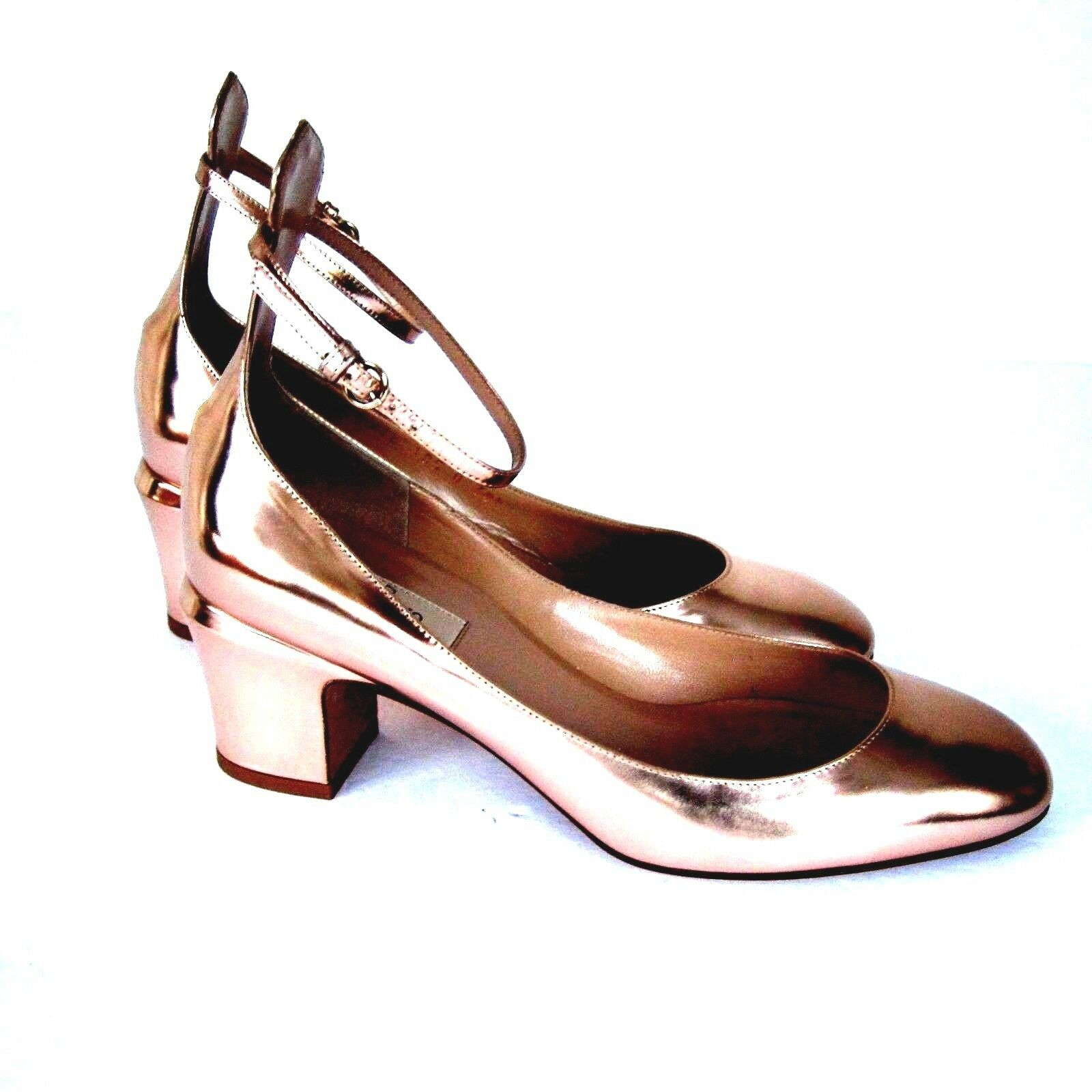 J-2879102 Valentino Garavani Cobre Tango Zapatos De Salón tamaño nos 9 marcado 39