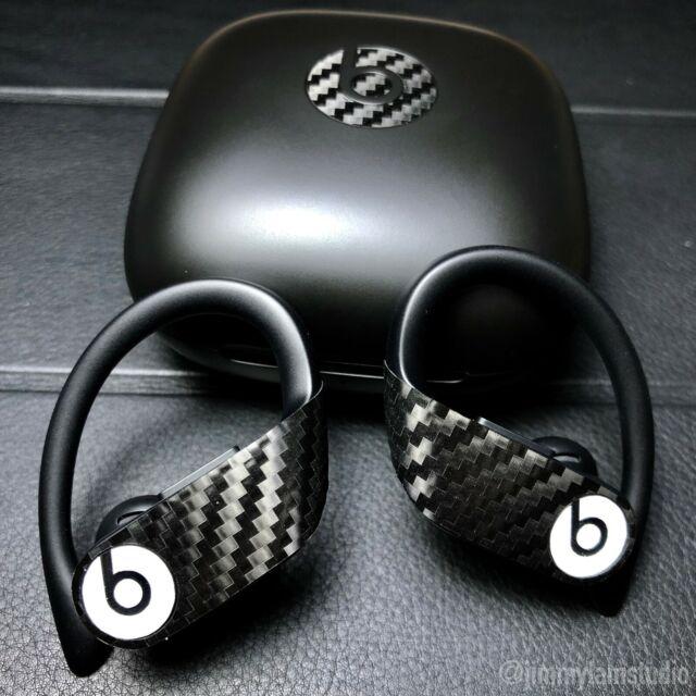 Carbon Fiber Powerbeats Pro Skin Vinyl 2 Pack Case Beats By Dre Apple  AirPods
