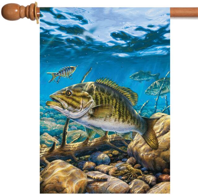 Toland Home Garden Smallmouth Bass Pond 28 X 40-Inch