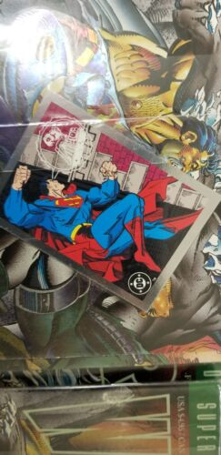 10 Wizard Magazine Special Tribute Edition SUPERMAN Foil DOOMSDAY Unread SEALED