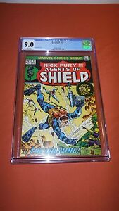 SHIELD-1-Nick-Fury-and-his-Agents-of-Shield-CGC-9-0-Steranko-Cover-Marvel-039-73