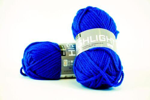 BellaLana Highlight 100/% premium Acrylique 100g-rapide pour strickgarn foulards