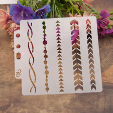 Reusable arrow Stencil Airbrush Art DIY Home Decor Scrapbooking Album Craft  T