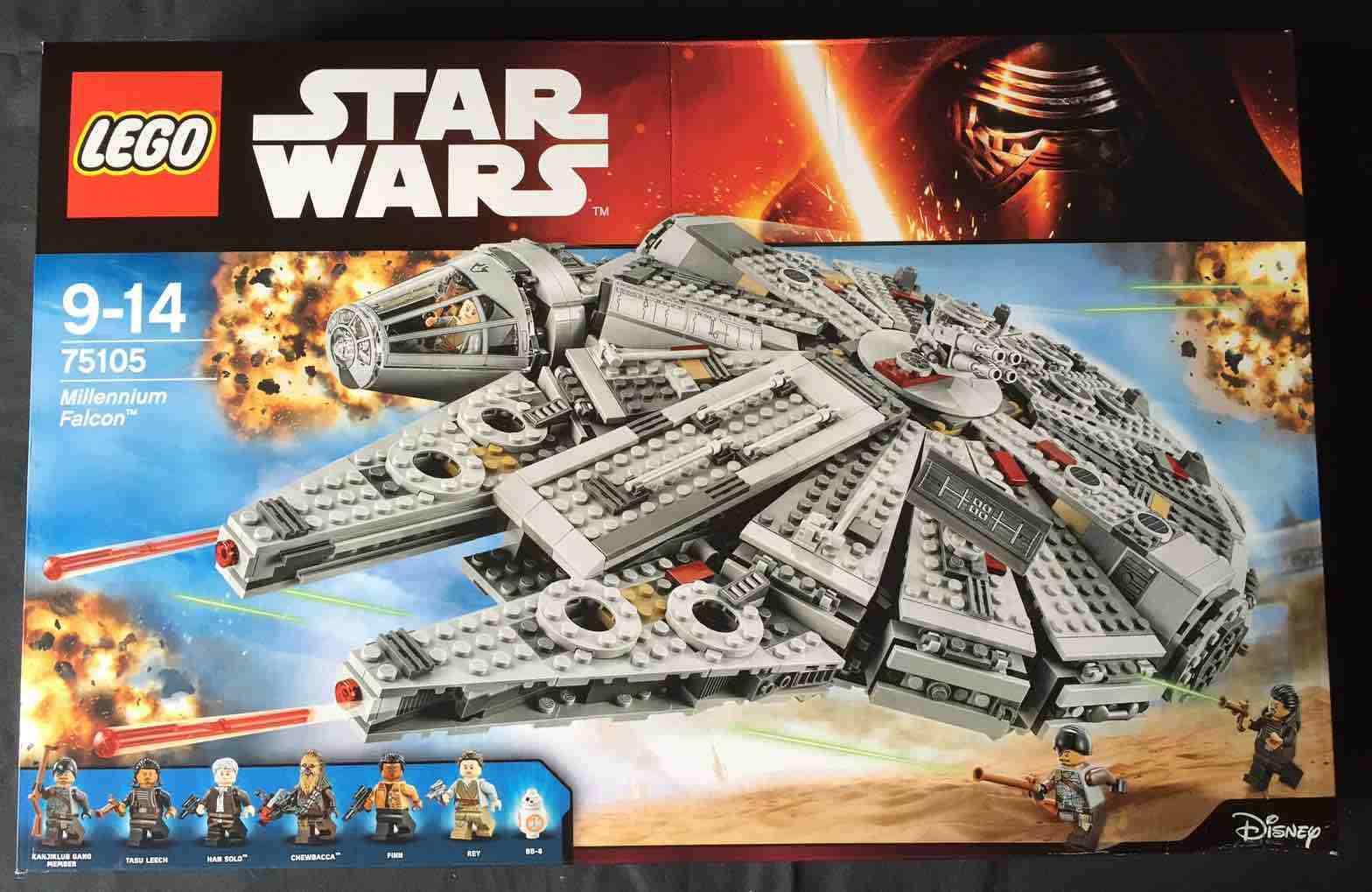 LEGO STAR WARS 75105 - MILLENNIUM FALCON  NO MINIFIGURAS / NO MINIFIGURES