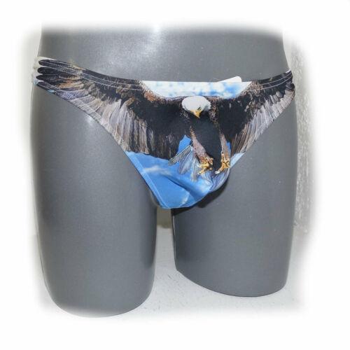 3391 Brand Print Cotton Soft Pouch Underpants underwear size M
