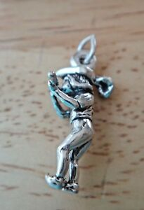 Sterling Silver 3D 11th 11 Pipers Piping 12 Days of Christmas Charm