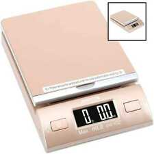 Accuteck Gold 86lbs Digital Shipping Postal Scale W Batteries Amp Ac Adapter