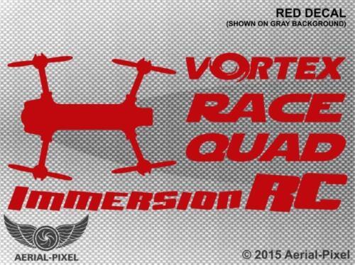 Case Decal Sticker Quadcopter UAV Drone Immersion RC Vortex Race Quad Window